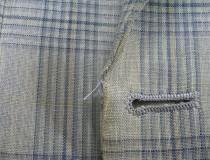 06 ジャケット・コートの前端の破れ、擦り切れ直し