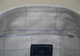 Yシャツの衿の破れ修理