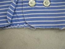 07 Yシャツ衿、カフスの破れ直し